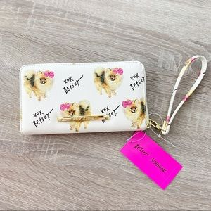 Betsey Johnson Faux Leather Wallet